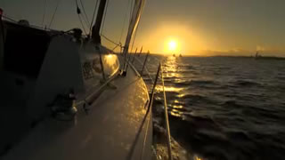 Twilight Sail with Swan River