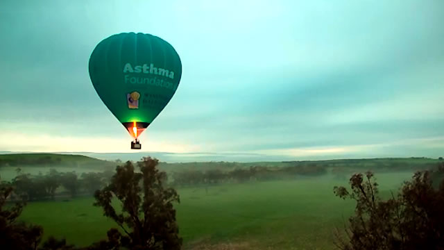 Ballooning Over the Avon Valle