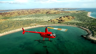 Helicopter tour of Karratha&rs