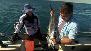 Fishing off Dampier Peninsula