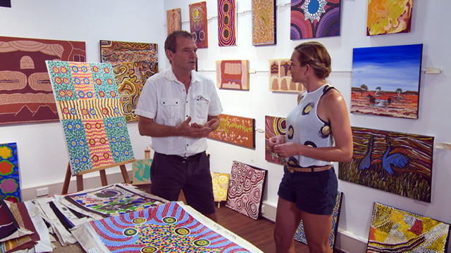 Halls Creek Town Art