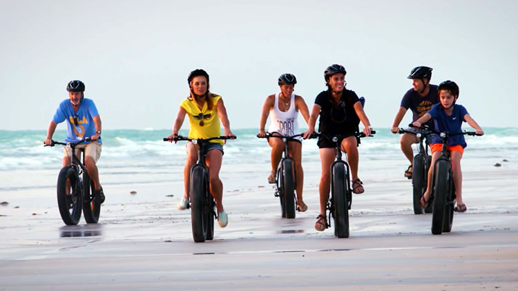 Fat Bikes on Cable Beach