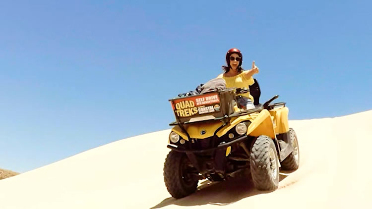 Quad Bikes at Coral bay