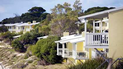 Accommodation at Rottnest Isla