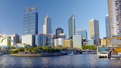 Exploring Perth CBD